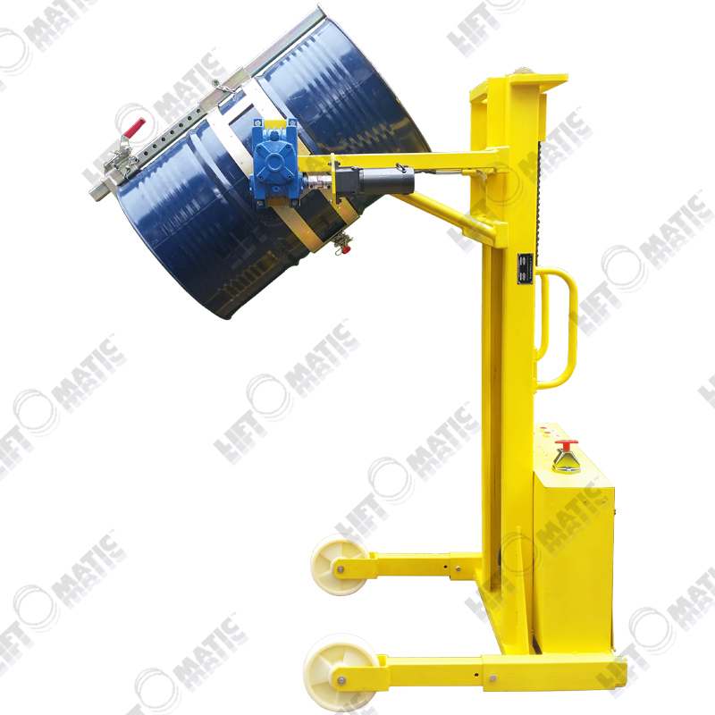 td850-pl全电动液压升降翻转油桶倾倒车网上预订